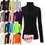 WOMEN-RIBBED-ROLL-NECK-JUMPER-TOP-LADIES-RIB-POLO-NECK-LONG-SLEEVE-TOP-Plus-8-30 thumbnail 1