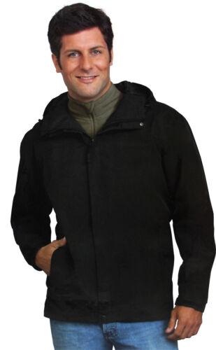 FREIZEITJACKE Windjacke Outdoor Regenjacke Wasserdicht schwarz M L XL ü5ü466 K35