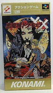 Castlevania-Akumajo-Dracula-XX-Super-Famicom-SFC-SNES-Japan-Free-Shipping