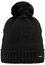 2017 NEW BARTS ADULT BEANIE AMARANTH HAT BLACK KNIT POM LADY WOMEN'S