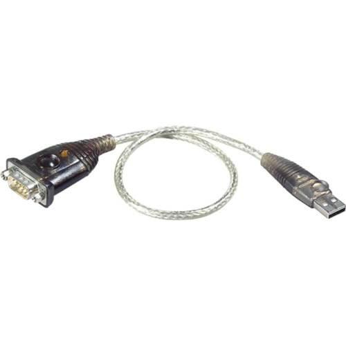 ATEN UC232A Konverter USB zu Seriell RS232 9pol Sub D Adapterkabel