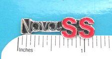 NOVA  SS    script  -  hat pin , lapel pin , tie  tac , hatpin GIFT BOXED