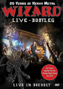 WIZARD-Live-Bootleg-25-Years-Of-Heavy-Metal-Live-In-Bocholt-2014-DVD-OVP