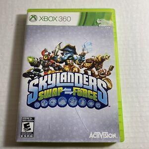 Skylanders Swap Force Microsoft Xbox 360 Video Game Free Ship Good Condition