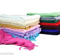 Top Quality Ladies Pashmina Shawl Hijab Scarf Huge Range Wrap UK Stock New Stole