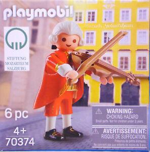 Playmobil Promo Sonderfigur 70135 Johann Sebastian Bach Geige Limitert RAR NEU