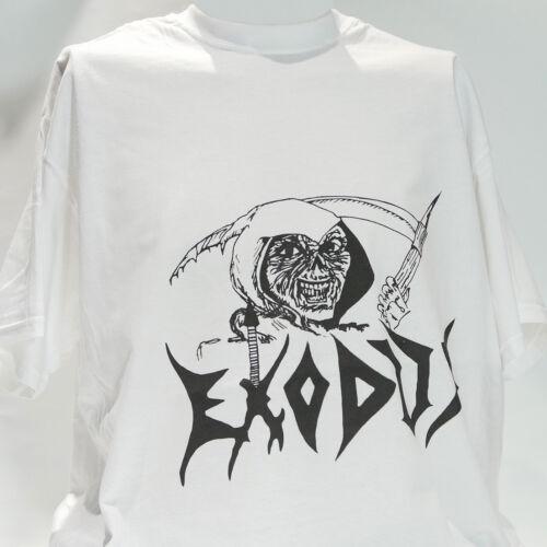 Éxodo Metal Rock T-Shirt testamento anthrax metallica megadeth S-3XL