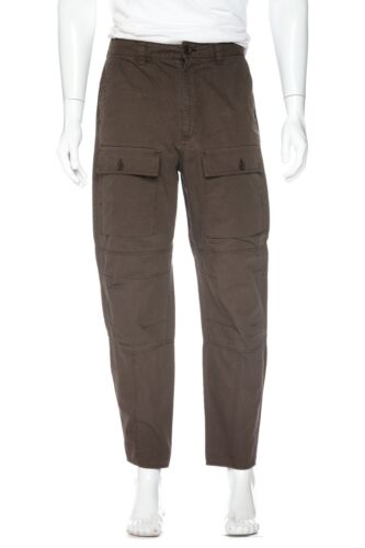 ACNE STUDIOS Pat Twill Paw16 Pants 48 Army Green D