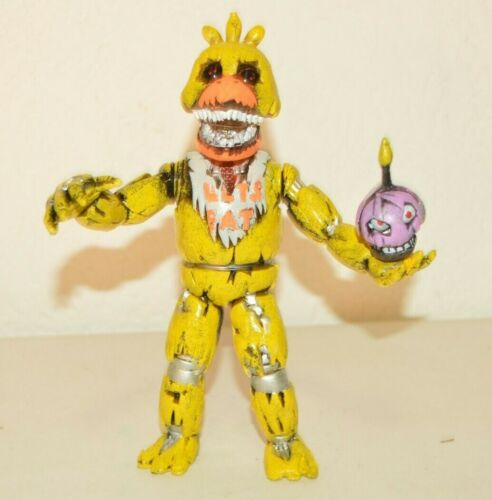 TOY MEXICAN FIGURE Five Nights At Freddy /'animatronics NAIMER CHICA 8 IN