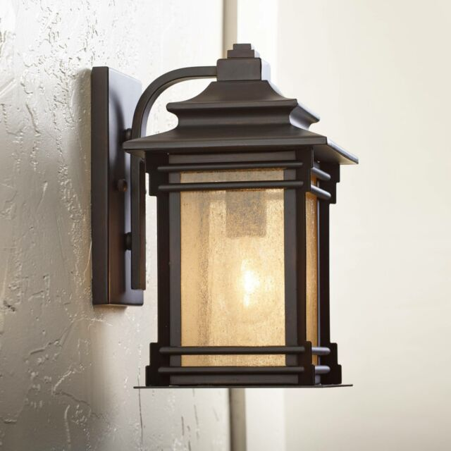 Franklin Iron Works Hickory Point 12 High Outdoor Light