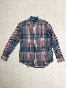 Mens-Designer-Ralph-Lauren-Cheque-Shirt