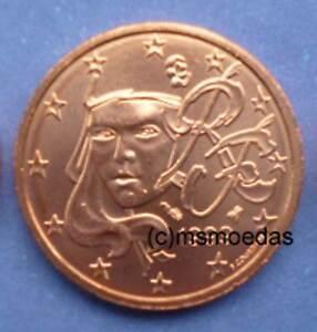 Frankreich Kursmünze Euromünze Wahl 1999 Bis 2017 1 Cent Bis 2