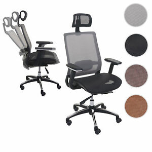 Schreibtischstühle Ergonomisch bürostuhl hwc a20 schreibtischstuhl ergonomisch kopfstütze textil