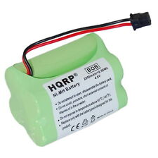 HQRP Bateria extendida para Uniden BEARCAT SPORTCAT BP-120 / BP-150  Reemplazo