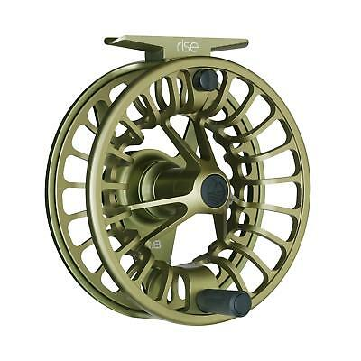 FREE US SHIPPING NEW REDINGTON RISE III 7//8 WEIGHT SILVER FLY FISHING REEL