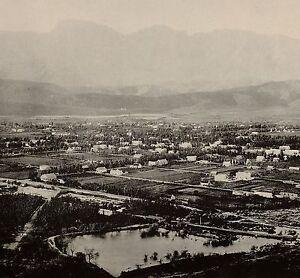 1899 Aufdruck Colonial South Afrika Blick Von Robertson Umhang Kolonie