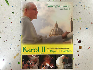 KAROL-II-EL-PAPA-EL-HOMBRE-DVD-I-MUSICA-DE-ENNIO-MORRICONE