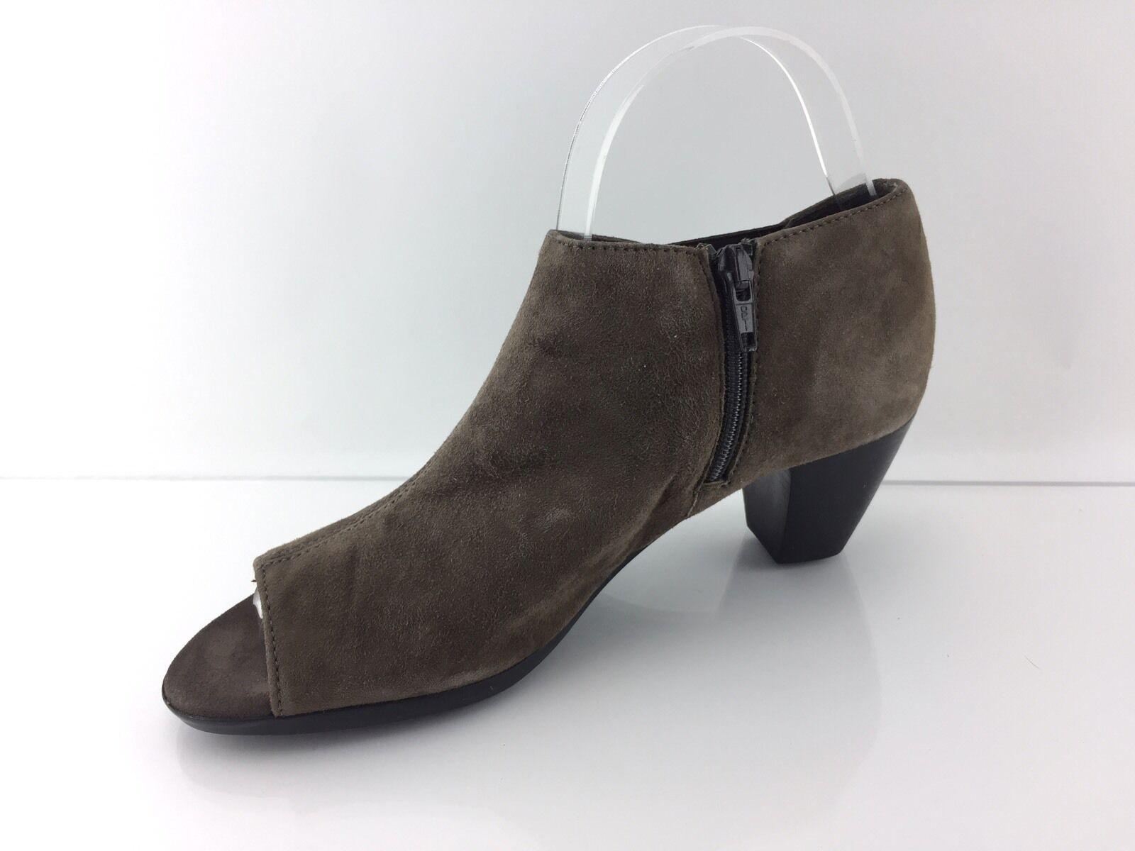 Munro gris Eve para mujer trato ante gris Munro botas al Tobillo Puntera Abierta 7.5 N ef06a7