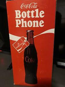COCA COLA BOTTLE PHONE MODEL 5000 COKE TELEPHONE WALL BRACKET 1983 Free Shipping