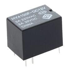10 pcs Mini Electronic Relays DC 12V Black TS