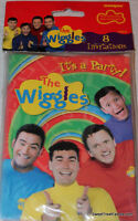 The Wiggles Party Supplies Invitations Birthday Decoration Treats X8 Invite
