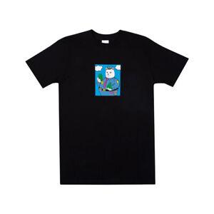 RIPNDIP-034-Confiscated-034-Short-Sleeve-Tee-Black-Men-039-s-Cat-T-Shirt