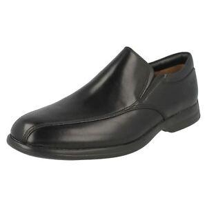 para Stride5 Clarks hombre Shoes Negro General Smart a4zwUg