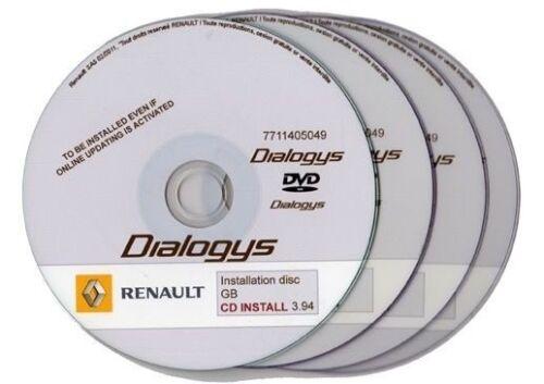 Renault Dialogys 3//2011 FULL manuals parts catalogue