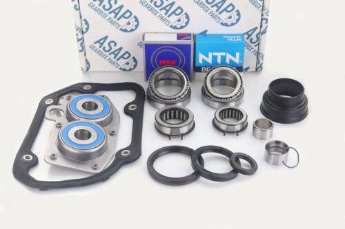 HCS VW Polo 02T Gearbox OEM Bearing /& Seal Rebuild Kit Fits GSA JHG /& JQM