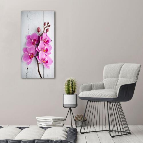 Leinwand-Bild Kunstdruck Hochformat 50x100 Bilder Orchidee