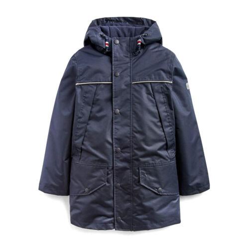 Joules Playground Boys Jacket Coat Marine Navy All Sizes