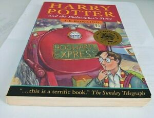 Harry Potter and the Philosopher's Stone Joanne Rowling 1st Ed 23rd Print 1997