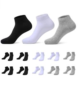 Sneaker Socken Damen Herren Sneakersocken 10Paar Halbsocken Kurze Atmungsaktive