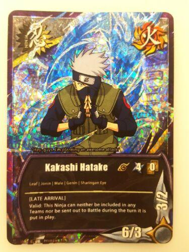 11 Details about  /Naruto Fan PrismCard Custom Card Game CCG Kakashi Hatake - Limited