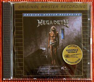 MEGADETH-COUNTDOWN-TO-EXTINCTION-MFSL-MOFi-Gold-CD-Plus-4-Bonus-Tracks-SEALED