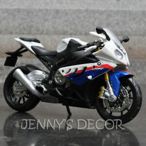Details About 1 12 Maisto Diecast Motorcycle Model Toy Bmw S1000rr Sport Bike Replica