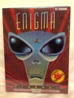 Vintage Enigma Pinball Pc Game Brand Sealed 3.5 Disk Ibm Tandy Rare