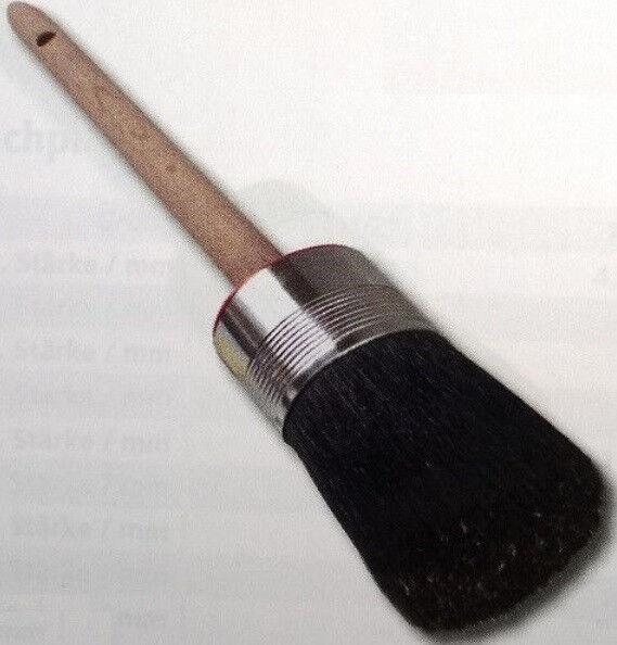 12x Wistoba Ringpinsel oval Industrieausf. Größe 10 Borstenlänge 82 mm (438-3-5)