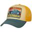 Stetson Baseball Sunset Trucker Cap Adjustable Snapback