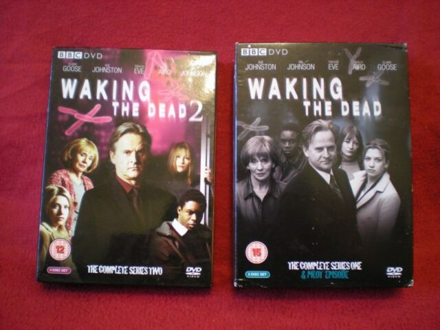 2 seasons of Waking the Dead Series 1 and 2 Season DVD Region 2 and 4