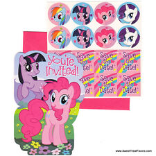 My Little Pony Invitations Party Supplies Decoration Birthday Pink Horse Invite