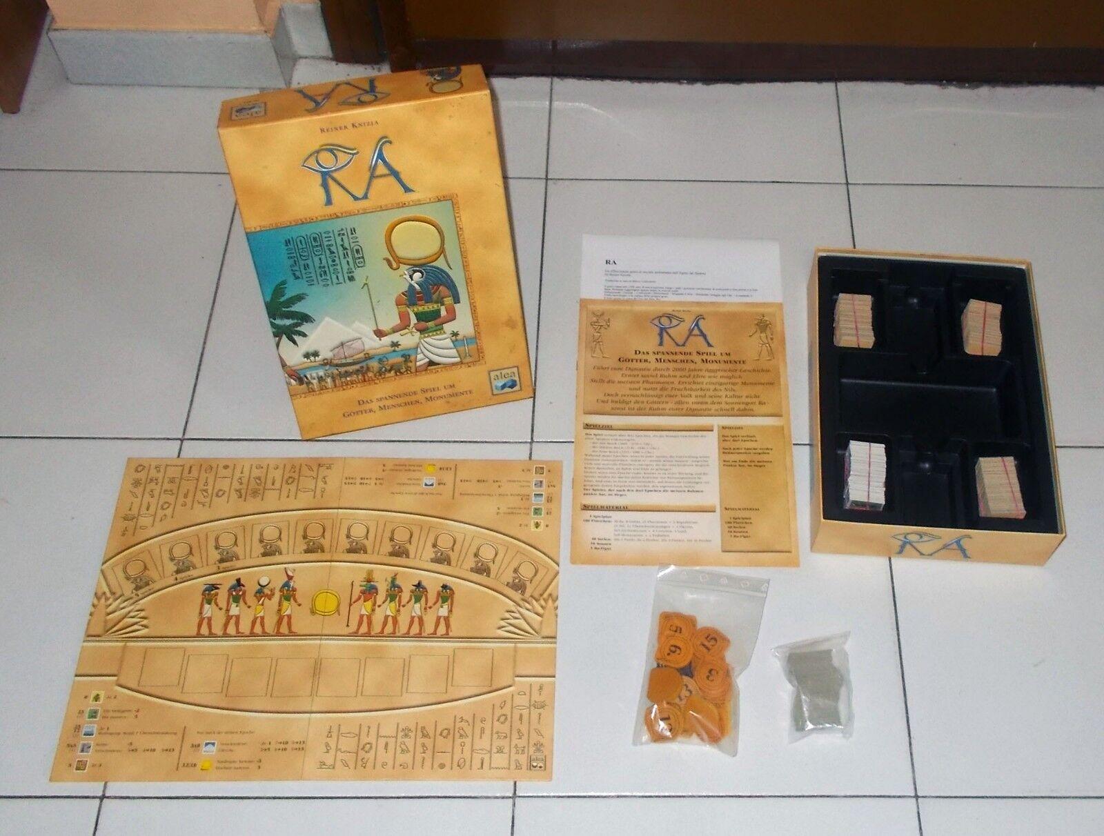 RA Alea Ravensburger 1999 Reiner Knizia PERFETTO Amun Re Amon Egitto Egypt