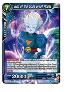 x4 GOD OF THE GODS GREAT PRIEST BT2-059 UC Dragonball