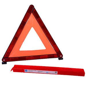 European warning triangle