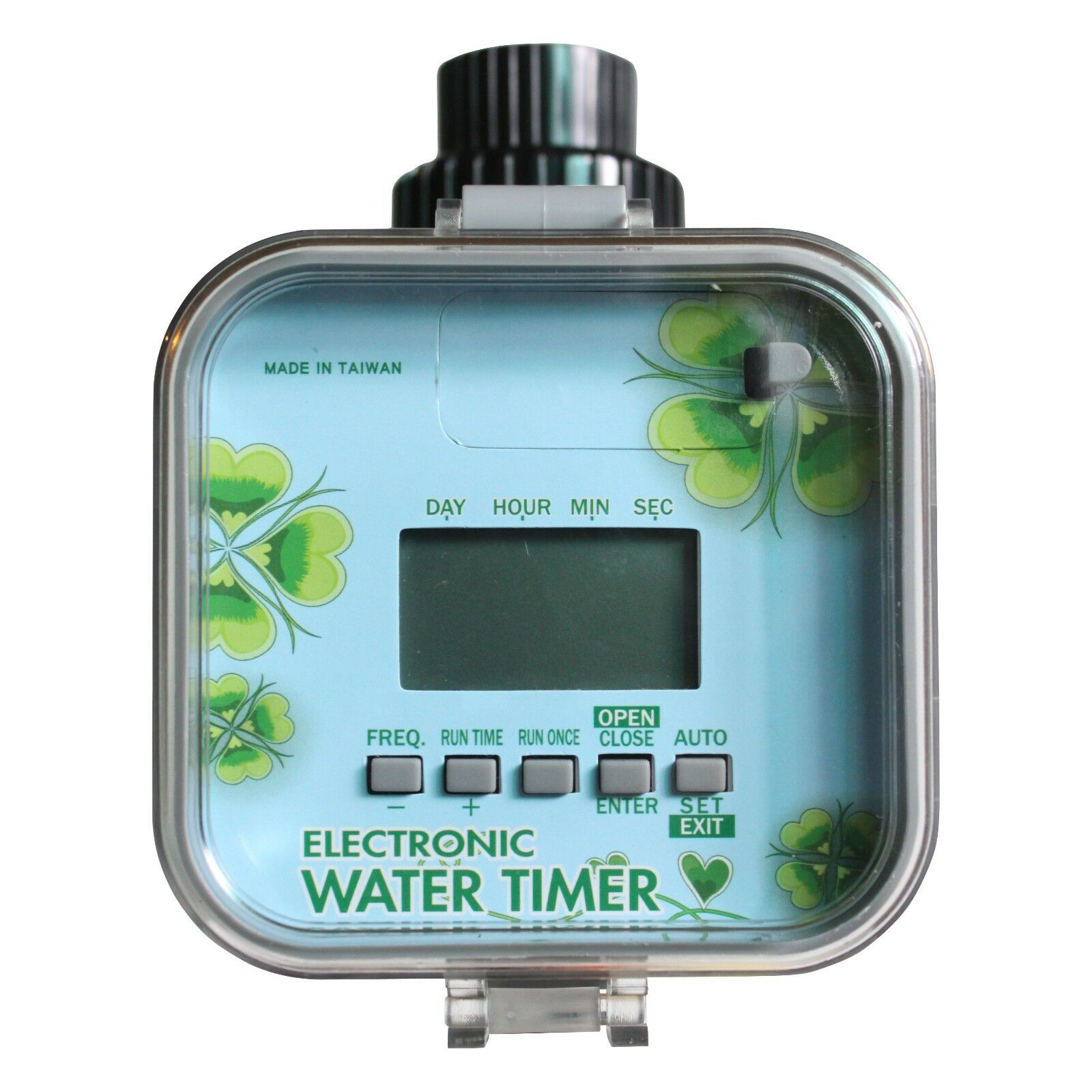 VEL03 Easy LCD Electronic Water Timer( (3~145psi ,Solenoid water flow more)