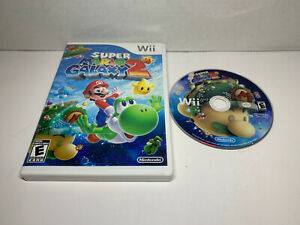 Super-Mario-Galaxy-2-Nintendo-Wii-2010-game-and-box-only-no-manual-free-ship
