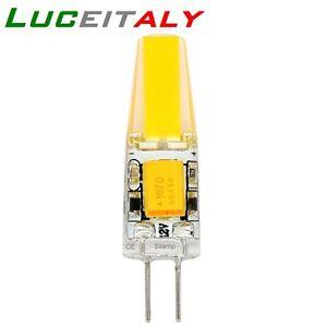 Lampadina bisbina led g4 12v luce bianca calda fredda 2w for Lampadine faretti led luce calda