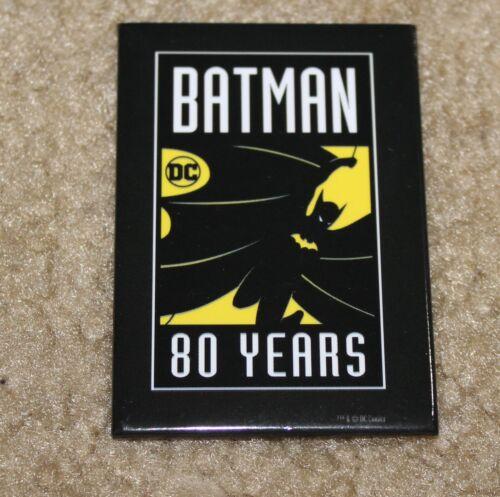 WONDERCON 2019 DC UNIVERSE BATMAN 80 YEARS BUTTON