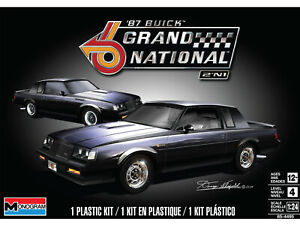 Revell-Buick-Grand-National-2N1-GNX-1-24-scale-model-kit-new-4495