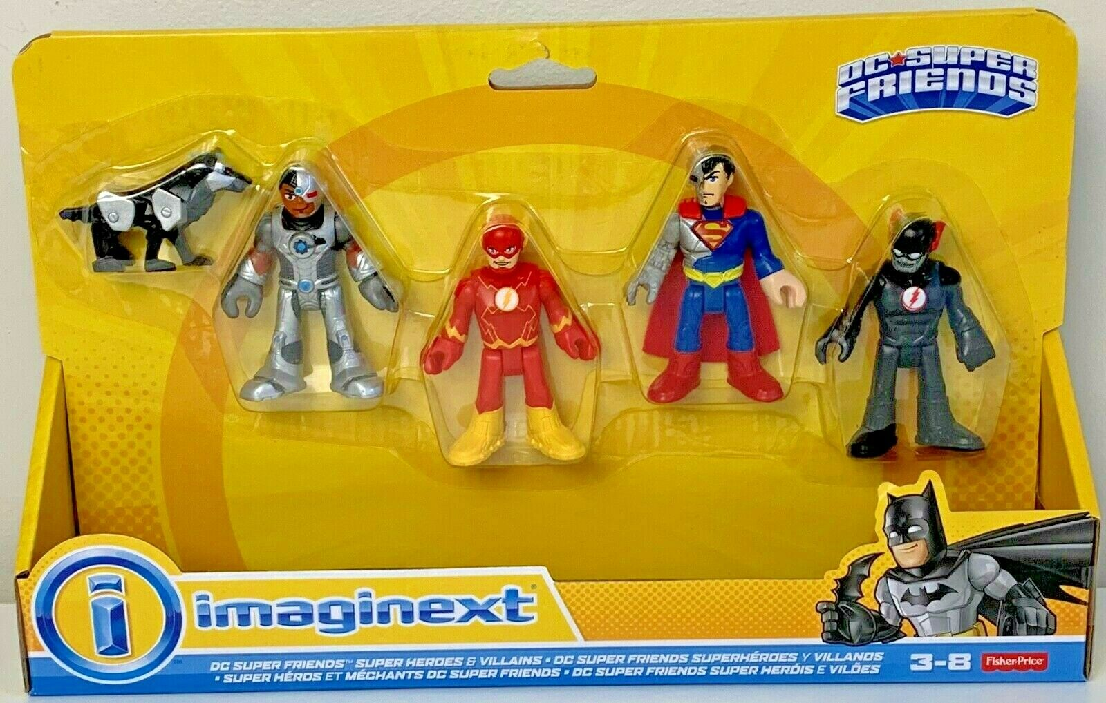 Kupit Fisher Price Imaginext Dc Super Friends Super Heroes Na Ebay Com Iz Ameriki S Dostavkoj V Rossiyu Ukrainu Kazahstan